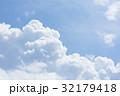 入道雲 空 雲の写真 32179418