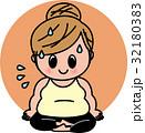 ホットヨガ ダイエット 女性のイラスト 32180383