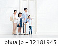 家族旅行 家族 出入り口の写真 32181945