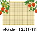 すだれとほおずき 和風の夏イメージ背景 32183435