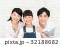 家族 親子 笑顔の写真 32188682