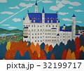 紅葉のノイシュバンシュタイン城 32199717