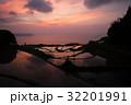 棚田 水田 田んぼの写真 32201991