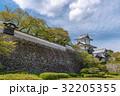金沢城 石川門 新緑の写真 32205355