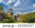 金沢城 石川門 新緑の写真 32205357