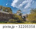 金沢城 石川門 新緑の写真 32205358