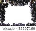 Grape fractal frame 32207169