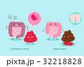 生物学 マンガ 漫画のイラスト 32218828