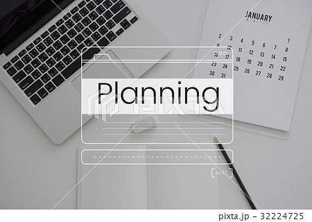 Business Planning Message Box Window Graphicの写真素材 [32224725] - PIXTA