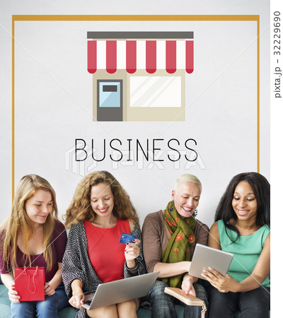 Small Business Merchandise Retail Online Shop Graphic 32229690