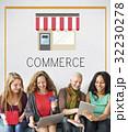 ビジネス 商売 グラフィックの写真 32230278