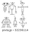 Cartoon Vector Robot Set03 32236114
