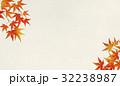和紙と紅葉 秋 32238987