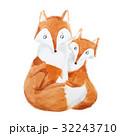きつね キツネ 狐のイラスト 32243710