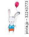 うさぎ バニー ウサギのイラスト 32243773