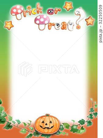 ハロウィンメッセージカード 32250509
