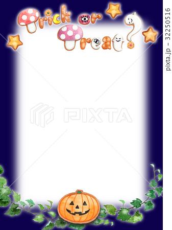 ハロウィンメッセージカード 32250516
