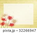 彼岸花のフレーム素材 32266947