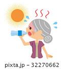 熱中症 水分補給 シニア 32270662