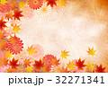 紅葉 秋 菊のイラスト 32271341