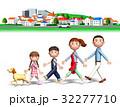 家族 ファミリー 街のイラスト 32277710