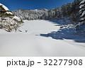 夫婦池の冬(徳島県美馬市桑平夫婦池) 32277908