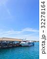 港 青空 船の写真 32278164