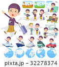 Arab man purple style travel 32278374