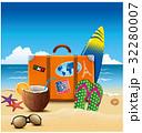 スーツケース トランク トランクケースのイラスト 32280007