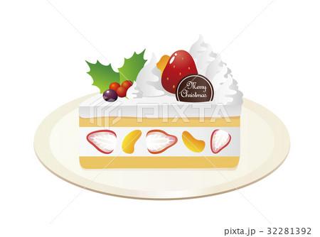 クリスマス_ショートケーキ1_フルーツイン 32281392