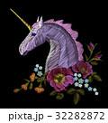刺しゅう 刺繍 バラのイラスト 32282872