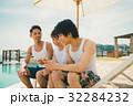 男女 若者 リゾートの写真 32284232