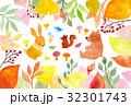 秋 水彩 水彩イラストのイラスト 32301743