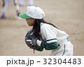 少年野球女子の守備練習 32304483