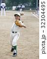 少年野球女子の守備練習 32304495