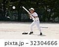 少年野球のバント練習 32304666