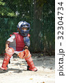 少年野球の守備練習 32304734