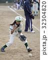 少年野球女子の守備練習 32304820