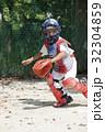 少年野球の守備練習 32304859