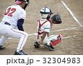 少年野球キャッチャー 32304983