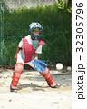 少年野球の守備練習 32305796