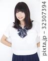 ポートレート 女子高生 女性の写真 32307394