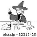 魔法使いの女の子のイラスト 32312425
