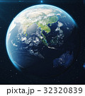 3D Rendering Planet earth from the space at night 32320839