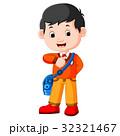 学校 少年 男の子のイラスト 32321467