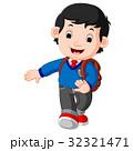 学校 少年 男の子のイラスト 32321471