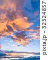 夕暮れの空模様 32324857