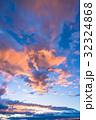 夕暮れの空模様 32324868