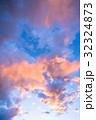 夕暮れの空模様 32324873