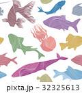 柄 魚 マリンのイラスト 32325613